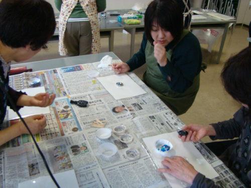 琉球ガラス×レジンで雑貨作り写真3