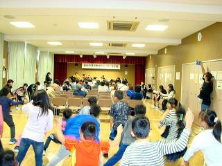 文化祭ステージ発表上野幌小学校写真2