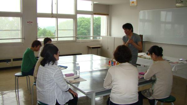 カラーセラピー講座写真2