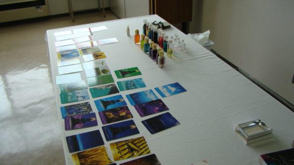 写真:カラーセラピー講座