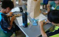 夏の子ども工作会写真1