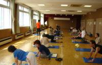 体幹トレーニングサークル体験講習写真3