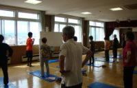 体幹トレーニングサークル体験講習写真1