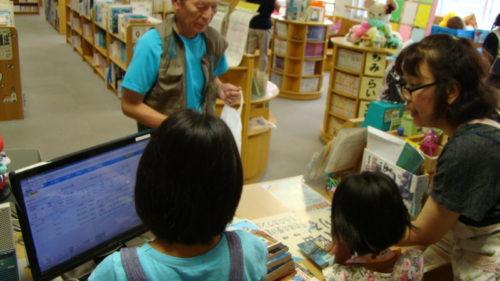 図書室お仕事体験写真2