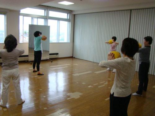 写真:3B体操サークル体験講習の様子