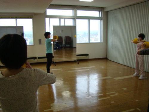 写真:3B体操サークル体験風景2