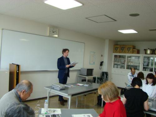 写真:はじめての英会話講座風景2