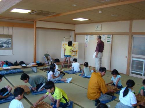 写真:夏の子ども将棋教室風景3