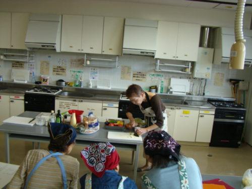 写真:野菜料理講座風景1