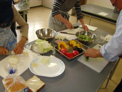 写真:野菜料理講座風景2